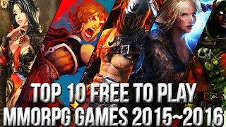 Top 10 Best Free to Play MMORPG Games 2015~2016 | FreeMMOStation.com(http://www.freemmostation.com/ ▻ Loot Crate offer: Go to http://lootcrate.com/freemmostation and use the code: freemmostation at checkout to get 10% off your ..., 2015-10-28T18:29:25.000Z)