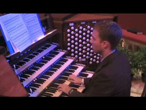 Paul Halley - Outer Hebrides (a fantasia on 3 traditional Celtic melodies); Garrett F. Martin, organ