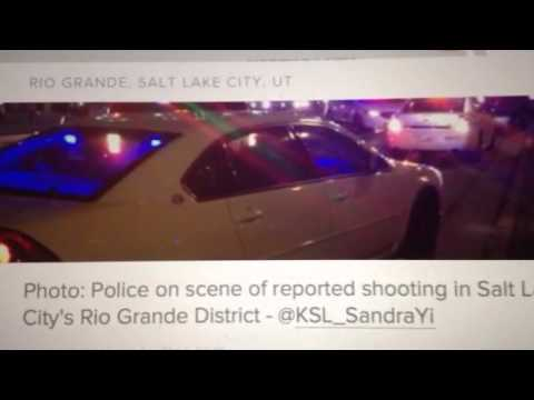 BREAKING: Salt Lake City UT Shooting Riots (Rocks Thrown At Police)
