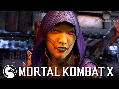 "I Hit Him With The INFINITE... - Mortal Kombat X: ""D'vorah"" Gameplay |"