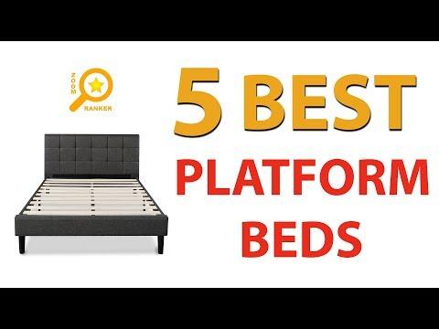 ✅ Best Platform Beds 2018