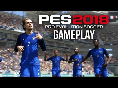 PES 2018 Gameplay