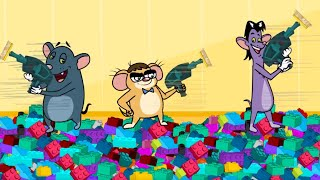 rat a tat  big charley tiny don in lego city  chotoonz kids funny cartoon videos