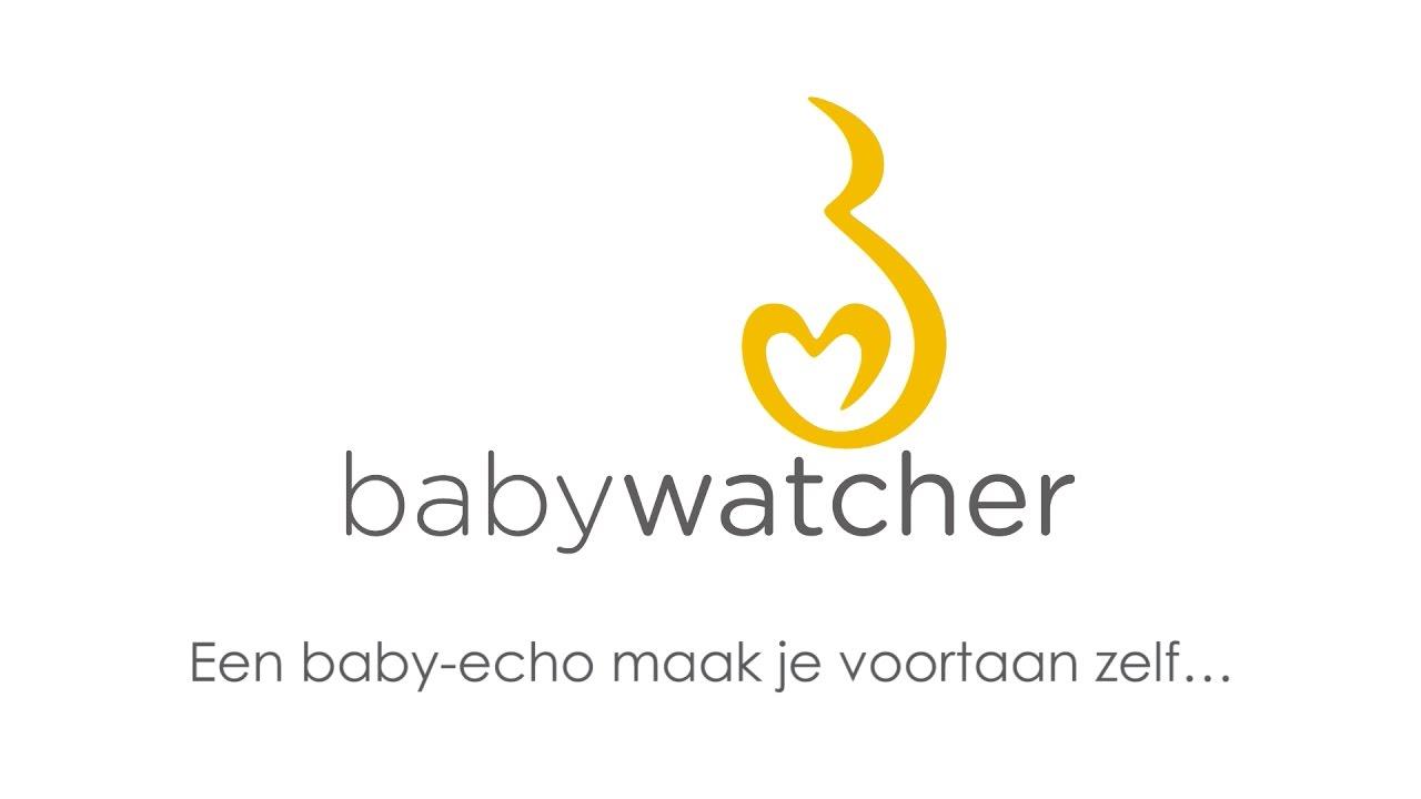 Maak je eigen 2D pretecho met de Babywatcher