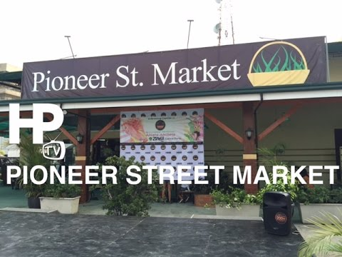 Pioneer Street Market Walking Tour Overview Mandaluyong by HourPhilippines.com