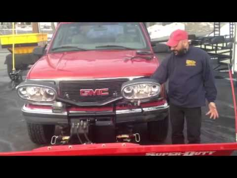 BOSS SNOW PLOW Vs Fisher Plow & Western Plow