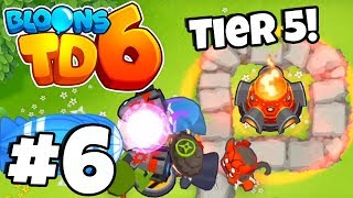 *MAX* TIER 5 INFERNO RING! - Bloons Tower Defense 6 Part 6  (BTD 6 IOS/Android)