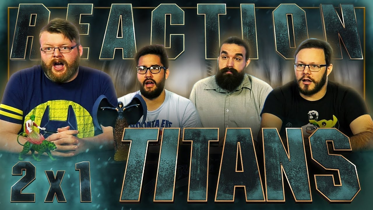 "Download Titans 2x1 PREMIERE REACTION!! ""Trigon"""