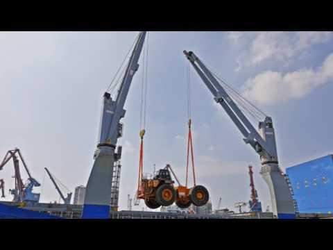 Heavylift Unloading