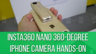 Insta360 Nano 360-degree iPhone camera hands-on: cool effects