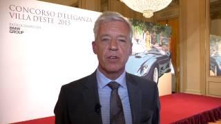 BMW: Opere d'arte su ruote al Concorso d' Eleganza Villa d'Este 2015