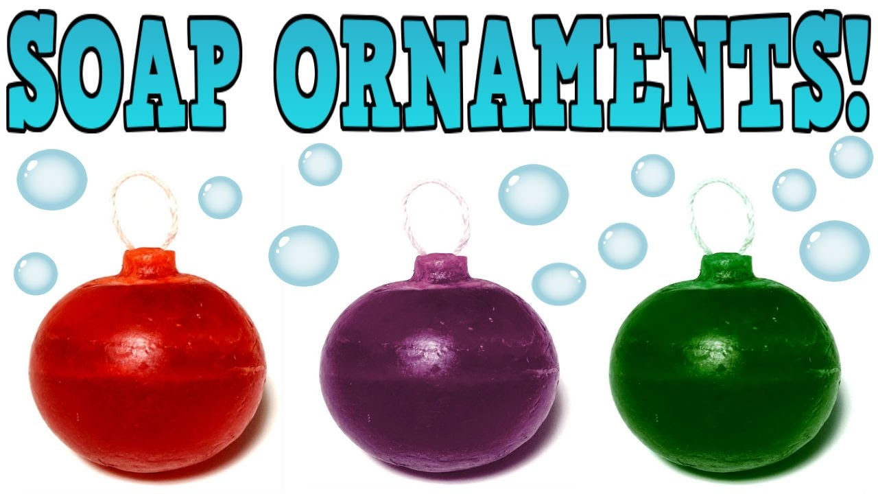 Diy Christmas Soap Ornaments New Diy Christmas Gift Idea Or To Make And Sell