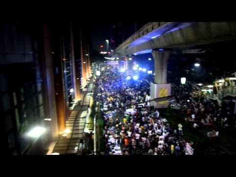 Live from Bangkok Protests 2014,Thaksin, Yingluck, Suthep, Bangkok Shutdown 2557