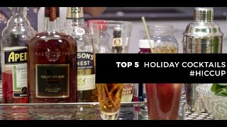Top 5 Holiday Cocktails