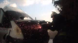Яготин пожежа авто 12 03 16(, 2016-03-13T07:46:22.000Z)