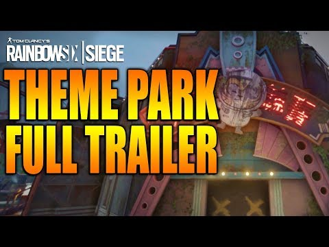 Rainbow Six Siege - In Depth: THEME PARK MAP FULL TRAILER - HONG KONG OPERATION BLOOD ORCHID