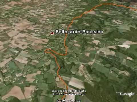 10. Etappe (Jakobsweg) Via Gebennensis - Von Revel-Tourdan nach Clonas - fernwege.de