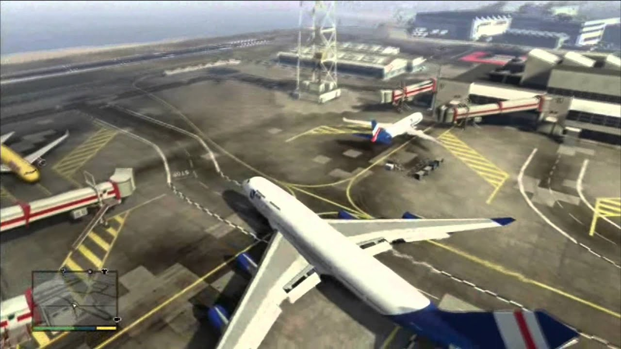 tuto gta v piloter un avion de ligne youtube. Black Bedroom Furniture Sets. Home Design Ideas