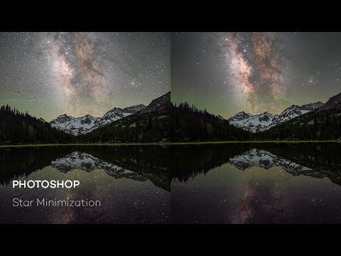 Basic Photoshop Milky Way Stacking & Blending Tutorial