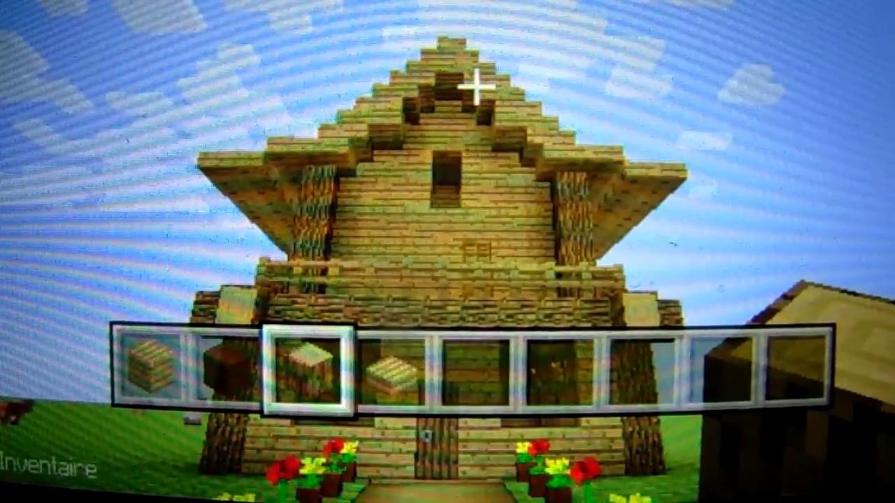 Minecraft faire maison chinoise en bois 1 youtube - Maison chinoise minecraft ...