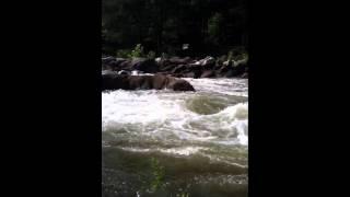Ocoee River Water Rising