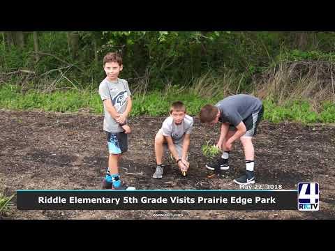 NI   Riddle Elementary 5th grade at Prairie Edge Park 05 22 18