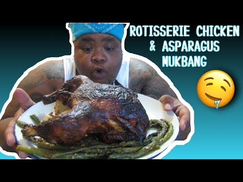 rotisserie-chicken-&-asparagus-mukbang-(super-funny)