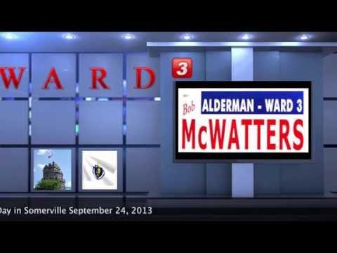 Vote Bob McWatters for Ward 3 Alderman Somerville MA