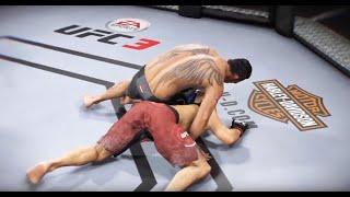 Хабиб Нурмагомедов VS Тони Фергюсон (Полное видео боя: UFC 3)
