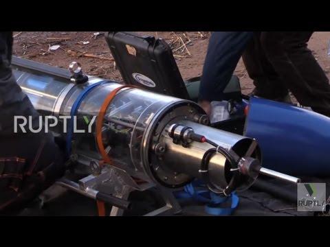 Russia: High-tech underwater glider explores Baltic Sea