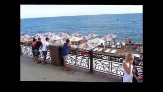 Пляжи в Судаке. Городской пляж онлайн.(Отзывы о пляжах Судака разные. Пляжи песчаные, галечные и скальные. Мое мнение, что Судак, набережная и пляжи..., 2016-07-27T13:12:31.000Z)