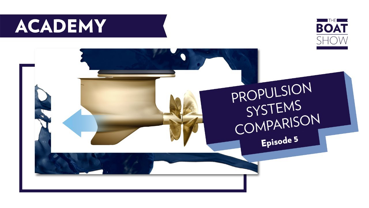 ACADEMY EPISODE 5 - PROPULSION SYSTEMS COMPARISON - The Boat Show