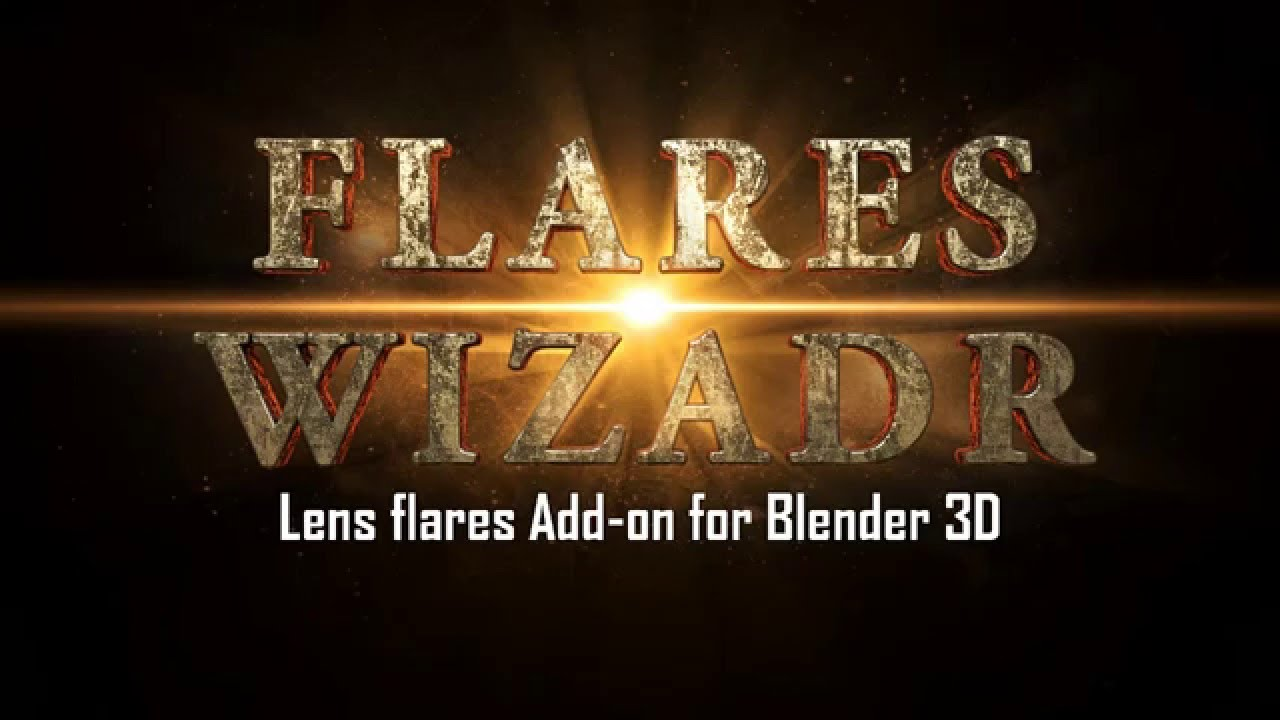 Flares Wizard - Lens flares add-on for Blender/Cycles - Code of Art