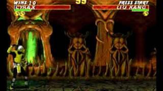 Ultimate Mortal Kombat Trilogy 4151 -  Stage fatality demostration