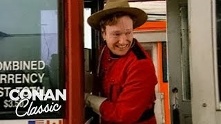 Conan Becomes A Canadian Mountie - Conan25: The Remotes
