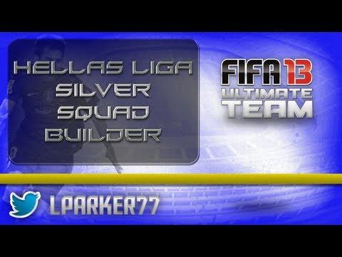 Fifa 13 Ultimate Team - Hellas Liga/Greek Silver Squad Builder
