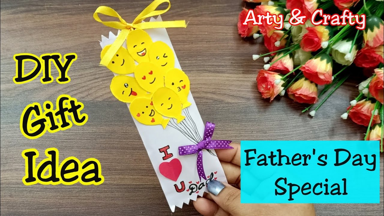 How To Make Father S Day Gift In Lockdown Easy And Beautiful Card For Father S Day Chocolate Youtube