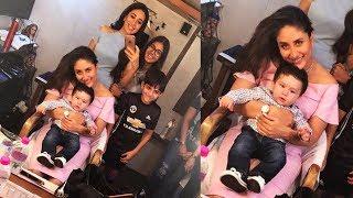 Taimur Ali Khan enjoys with Kareena Kapoor Khan ,Karisma Kapoor | Adorable Pics