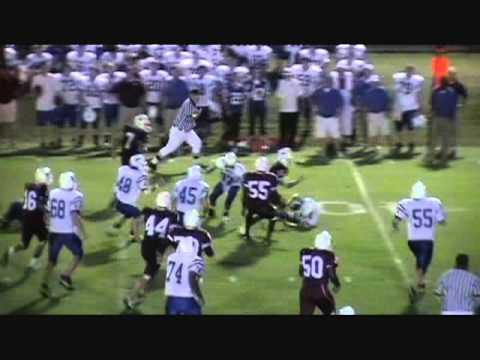 Justin Whitaker #5 RB/DB kossuth high school/corinth, ms alcorn county  football video