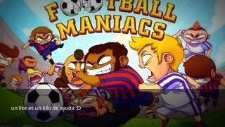 PRIMEROS PASOS EN FOOTBALL MANIACS
