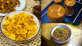Onam Special !! All time favorite Kerala Banana Chips | Banana Kheer | Banana Peel Thoran