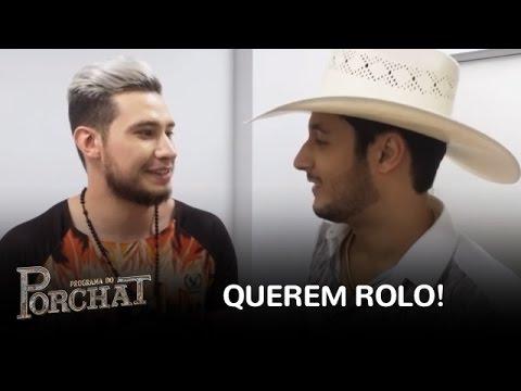 EXCLUSIVO: Bruno e Barretto dizem com quem querem rolo