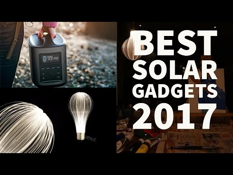 Top 5 Solar Gadgets 2017 P2 | Solar System In A Box | Solar panels of future