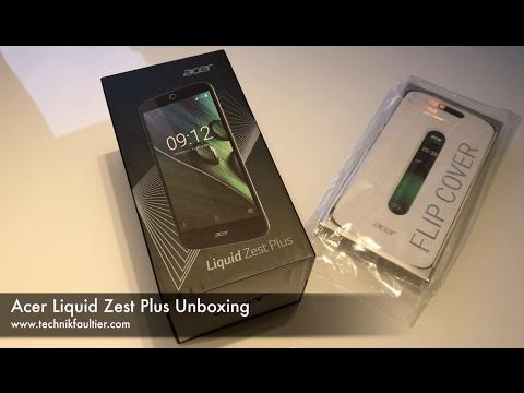 Acer Liquid Zest Plus Unboxing