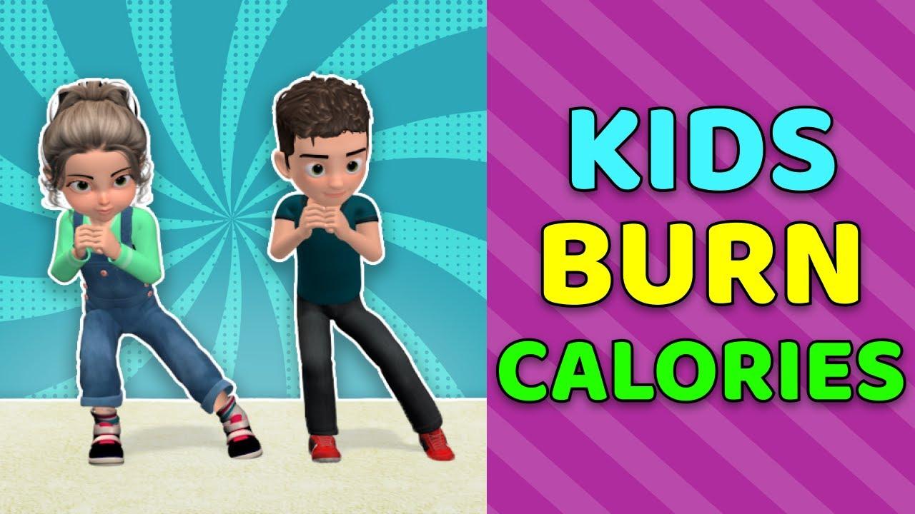 LET'S BURN CALORIES! KIDS DAILY EXERCISES