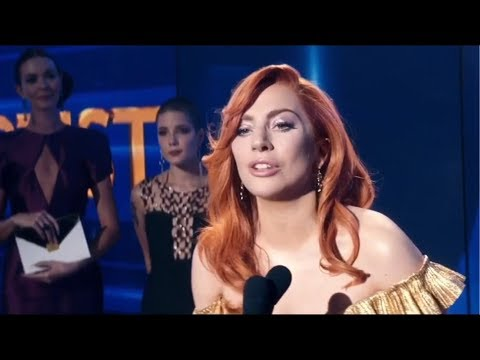 Lady Gaga - A Star Is Born Scene - Wins the Grammy Awards