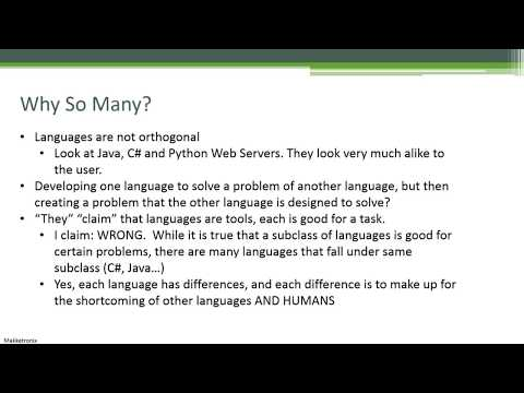 Best Programming Languages to Learn (Subjective)