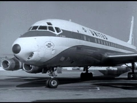 "United Douglas DC-8 - ""Chicago to Los Angeles"" - 1965"