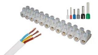 Соединение гибкого провода с жестким проводмом(Часто в монтаже по электрической части нужно соединить гибкий провод с жестким, возможно гибкий медный..., 2013-04-11T22:05:08.000Z)