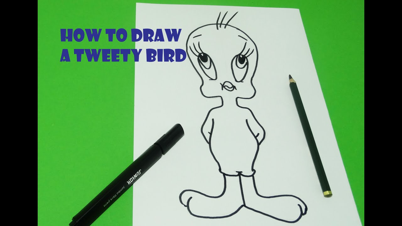 How To Drawe Tweety Bird